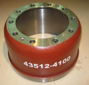 Heavy Duty Truck Brake Drum 43512-4100 pictures & photos