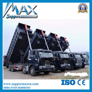 50t HOWO Truck China Tipper Trucks for Sale 8X4 12-Wheel Mining Tipper Truck pictures & photos