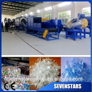 Pet Bottle Plastic Recycling Crusher Machine with Washing Lines pictures & photos