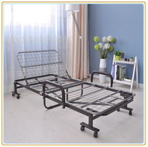 Red Double Rollaway Guest Bed 190*100cm/Folding Bed pictures & photos