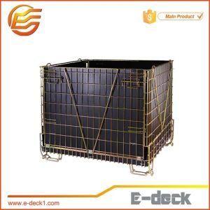 for Pet Preform Storage Galvanized Wire Mesh Cage