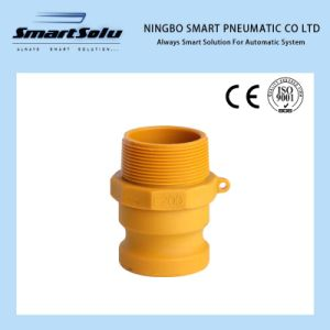 High Quality Male BSPT Threaded Nylon Cam and Groove Couplings pictures & photos