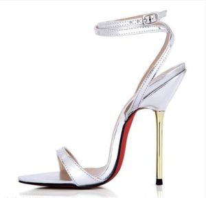 Fashion Women High Heel Sandals Lady Dress Shoes (GG0901)