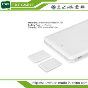 Portable Mobile Phone Charger with Built-in Cable pictures & photos