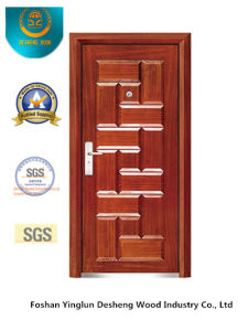Fasion Style Security Steel Door (b-3028) pictures & photos