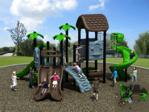 Kaiqi Medium Sized Nature Themed Children′s Outdoor Playground (KQ50079D) pictures & photos
