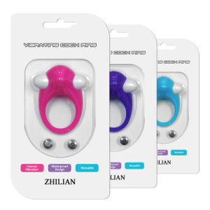 Delay Ejaculation Sex Toys Vibrating Ring for Man pictures & photos