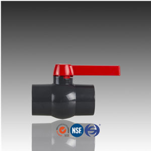 DIN ASTM ISO Standard PVC Compact Ball Valve pictures & photos