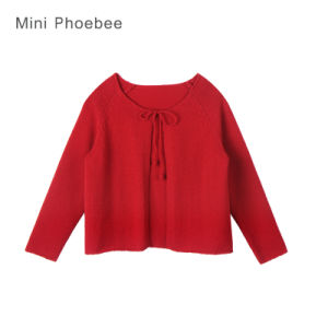Phoebee Wholesale Little Girls Cardigans for Spring/Autumn pictures & photos