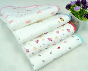 Baby Muslin Wrap Swaddle Blanket Diaper Pad pictures & photos