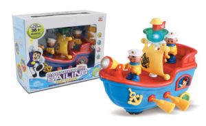 Electric Toy Battery Operated Ptrate Boat (H0234066) pictures & photos