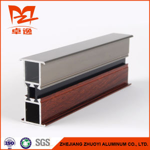 Two Colors Thermal Break Composite Aluminum Profile for Window pictures & photos