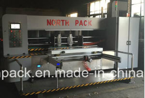 GSYKM Lead-edge feeding flexo printing slotting die-cutting machine pictures & photos