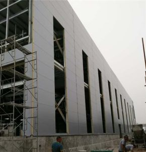 Cheap Price Quality Polyurethane Foam Sandwich Panel with 45kg/M3 High Density pictures & photos