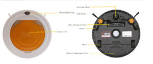 Industrial High Quality Smart Automatic Robot Vacuum Cleaner pictures & photos