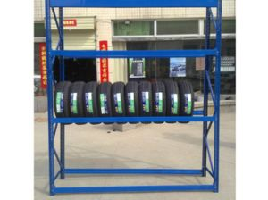 Pallet Rack Type Tire Racking pictures & photos