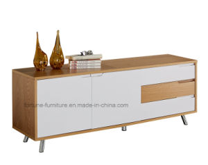 Modern Furniture/Wooden UV Lacquered TV Cabinet (Soldier 201) pictures & photos