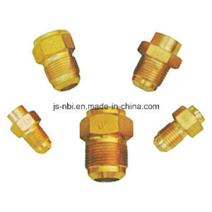 CNC Machined Brass Industrial Components for Pipeline Use pictures & photos