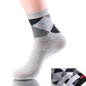 High Quality Cotton Mens Elite Crew Socks pictures & photos