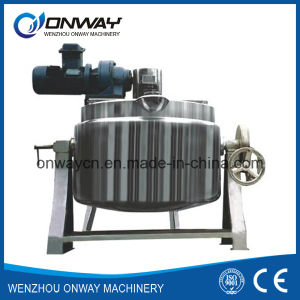 High Quality Tilting Oil Steam Jacketed Cooking Stainless Steel Kettle pictures & photos