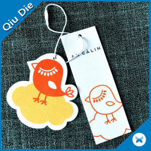 Eco-Friendly Garment Swing Ticket with UV Printing Tag pictures & photos