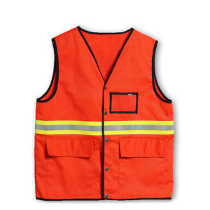 Reflective Safety Jacket for Cleaning Workers (C2408) pictures & photos