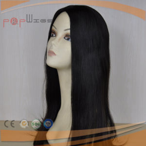 Dark Untouched Virgin Color Full Hand Tied Women Wig pictures & photos