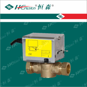 Motorized Valve Df-03 / Brass Ball Valve pictures & photos