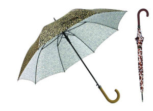 Straight Automatic Animal Skin Print Umbrella (YS-SA23083927R)