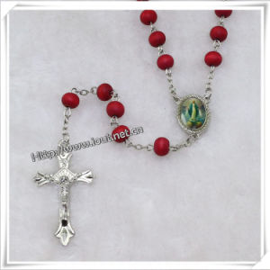 Religious Wooden Beads Rosary, Catholic Beads Rosaries (IO-cr338) pictures & photos