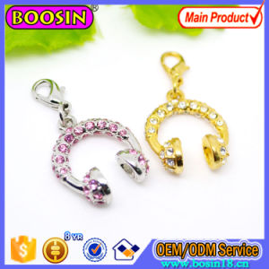 New Fashion Gold Angel Wing Charm Lucky Jewelry Charm with Lobster Clasp pictures & photos