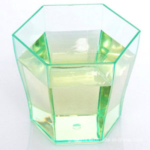 PP/PS Plastic Cup Disposable Tumbler Hexagonal Cup pictures & photos