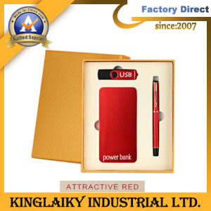 Promotional Gift with Creative Stationery Power Bank and Pen pictures & photos