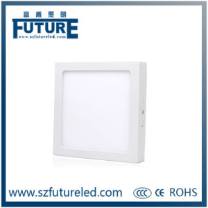 Ultra-Thin 24W Square LED Panel Light with Acrylic&Glass pictures & photos
