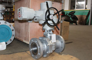 Electric Operated Stainless Steel Ball Valve pictures & photos
