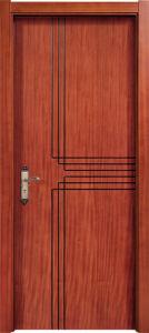 Topbright Wholesale Laminated Apartment Teak Wood Door pictures & photos