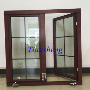Double Glazing Aluminum Crank Window for American Market pictures & photos