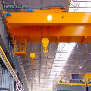 Lifting Machinery 25 Ton Remote Control Bridge Crane for Sale pictures & photos