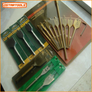 Wood Flat Drill Bit Set with Blister Card pictures & photos