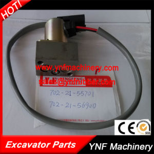 Hydraulic Main Pump Solenoid Valve for Komatsu PC200- 7 702-21-55701 pictures & photos