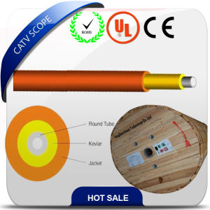 FTTH Fiber Optical Cable Round Tube