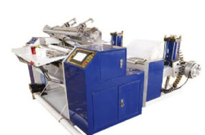 Cash Paper Slitting Rewinding Machine, Thermal Paper Roll Slitting Machine pictures & photos