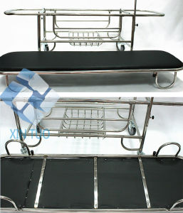 Low Price Hospoital Furniture Medical Equipment Examination Trolley pictures & photos