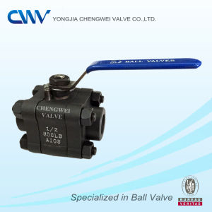 Carbon Steel Floating Ball Valve with Female Thread