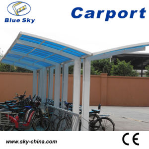 Large Outdoor Garage Aluminum Frame and Polycarbonate Carport (B810) pictures & photos