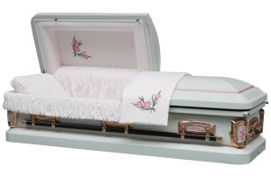 18 Gauge Steel Carnation Empress Casket pictures & photos