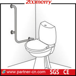 L-Shape Wall Mounted Toilet Safety Grab Bar pictures & photos