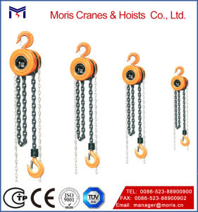 Construction Manual Hoist with High Quality Hook pictures & photos