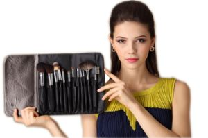12PCS Cosmetic Makeup Brush for Makeup School Students pictures & photos