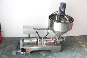 Pneumatic Semi-Auto Juice Liquid Filling Machine Price pictures & photos